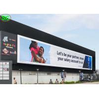 Buy cheap P10 High Resolution Advertising Full Color LED Screens IP65 Waterproof from wholesalers