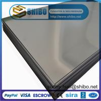 Buy cheap 99.95% Pure Molybdenum Sheet, molybdenum plate for Sapphire Crystal Growth from wholesalers