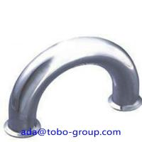 Buy cheap Butt Welding Pipe Fittings Carbon Steel Elbow 180 Elbow For Petroleum , Chemical from wholesalers