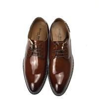 Buy cheap Calf Skin Men Leather Classic Shoes Lace up Durable Dress Shoes with rivet from wholesalers