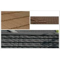 Buy cheap ECO Classic Aluminum / Zinc Colorful Stone Coated Metal Roof Tiles for building mansion from wholesalers
