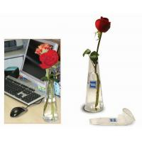 Buy cheap Office decoration vase, pvc foldable vase, different color can be choose product