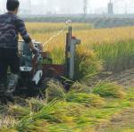 8HP 5KW Wheat Reaper Binder Harvester with water cooling diesel engine