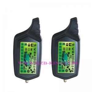 Buy cheap FSK 5000M long range wth microwave sensor &remote  engine start 2 Way Car Alarm system product
