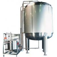 Buy cheap Dairy UHT Stainless Steel Tanks Milk Storage Tank For Filling from wholesalers