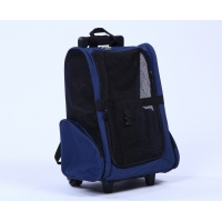 Buy cheap 40*27*55cm Backpack Stroller Pet Carrier With Detachable Wheel from wholesalers