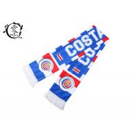 Buy cheap Costa Rica Custom Soccer Scarves , Netherlands Football World Cup Scarf from wholesalers