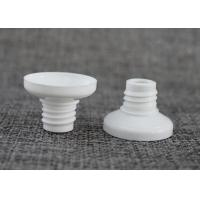 Buy cheap White Plastic Tube Head In PE Food Grade For Food Laminated Tube Personalized Design from wholesalers