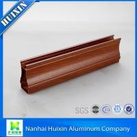 Buy cheap Unique Style Wooden Grain Aluminum Profiles for South Africa Market from wholesalers