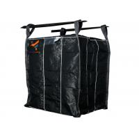 Buy cheap Carbon Black Ton Bag and PP Woven Fabric for  Plastic, Chemical, Gravel Mining, Building Material, Waste Garbage from wholesalers