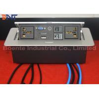 Buy cheap Customized Made Office Desktop Hidden Pop Up Power Sockets CAT6 / HDMI from wholesalers