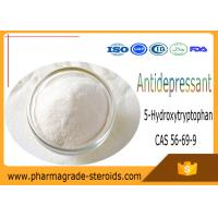 Buy cheap CAS 56-69-9 Pharmaceutical Raw Materials 5-Hydroxytryptophan 5-HTP for Antidepressant from wholesalers