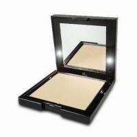 Buy cheap Cosmetic Packaging/Compact Case with Injection Black Color Base and LED Light from wholesalers