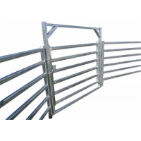 Buy cheap Hot Dipped Galvanized Pipe Full Welded Silver Painted  AS/NZS standard 1.8mx2.1m width Livestock Panels​ from wholesalers