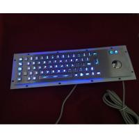 Buy cheap 304 stainless steel illuminated keyboard with blue leds from wholesalers