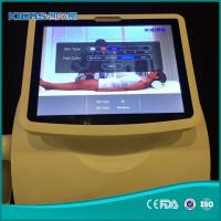 Buy cheap vertical Hair Removal 808nm diode laser machine with Gernamy laser bar handpiece from wholesalers