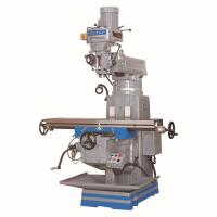 Buy cheap Low price  vertical turret milling machine 5EA NT40/5HP spindle Taiwan parts 1370*280mm working table mould processing from wholesalers