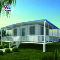 Buy cheap 20ft 2 bedroom prefab homes expandable living container house for sale product