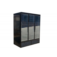 Buy cheap Three Hinged Swing Double Glass Door Refrigerated Merchandiser Cooler Showcase from wholesalers
