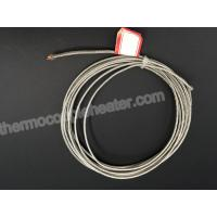 Buy cheap Fiberglass Thermocouple Compensating Cable Wire With SS Braid Shield from wholesalers