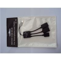 Buy cheap Micro USB OTG Hub For Mobile Phone Tablet PC Micro USB OTG Hub from wholesalers