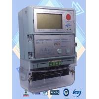 Buy cheap 4 Programmed Channel 3 Phase Electric Meter / Prepaid Industrial Power Meter from wholesalers
