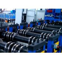 Buy cheap Fully PLC Control Automatic Silo Roll Forming Machine Hydraulic Punching product