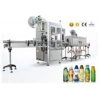 Buy cheap PET / OPS Small Capacity Shrink Sleeve Label Applicator For Flat Bottles from wholesalers