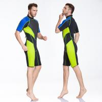 Buy cheap shorty wetsuits diving suits,short sleeve suits 3mm 4mm china manufacture from wholesalers