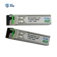 Buy cheap CE FCC approved 1000LX (LC) single-mode 1310Tx/1490Rx, 10 km 1.25g BiDi SFP Module product