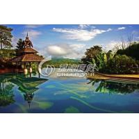 Professional Garden Swimming Pools Design and Project for Holiday Resort