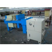 Buy cheap Automated Hydraulic Plate And Frame Filter Press Equipment For Sludge Treatment from wholesalers