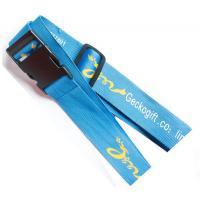 Buy cheap Security polyester luggage belt lanyard for luggage bag safety, without digital code lock, from wholesalers