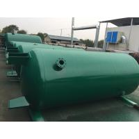 Buy cheap Carbon Steel Verticial Underground Oil Storage Tanks High Pressure Vessel from wholesalers