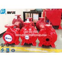 Buy cheap Single Stage Horizontal Centrifugal End Suction Fire Pump Set With Diesel Engine from wholesalers