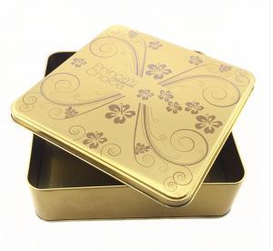 China Metal Tin Box Tin Metal Lunch Box Handle Metal Soap Tin Box Square Tin Box on sale