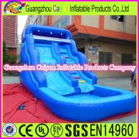 Buy cheap Mini Backyard Inflatable Water Slide from wholesalers