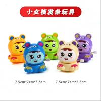 Buy cheap Fashion Plastic Wind Up Toys 7.5cm Tall For Cute Little Girl EN71 Approved from wholesalers
