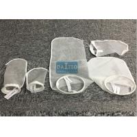 Buy cheap PE / Nylon Filter Mesh Liquid Filter Bags Woven / Nonwoven Fabric 178mm*430mm product