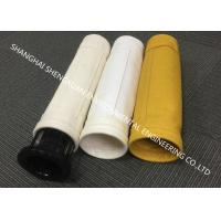 Buy cheap Industrial Dust Filtration Dust Collector Filter Bags With High Temperature Resistance product