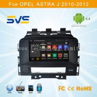 Buy cheap Android 4.4 car dvd player GPS navigation for Opel Astra J 2008-2013 / Buick Excelle 2010 from wholesalers