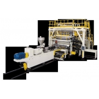 Buy cheap Three Layers 3000mm PVC Floor Leather Sheet Extrusion Lines from wholesalers
