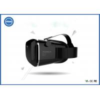 China ABS Material 3D Video Glasses / Gaming Video Glasses with 20 cm - 40 cm Head girth on sale