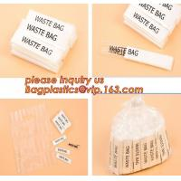 Buy cheap Individually packed waste bag, individually packed, single fold,100% fully biodegradable die cut handle plastic shopping from wholesalers