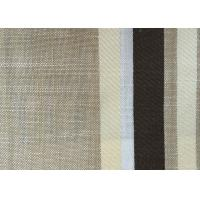 Buy cheap Washable Upholstery Polyester Blend Fabric , Plain Linen Fabric from wholesalers