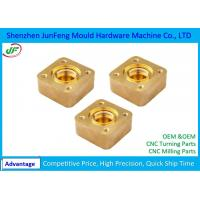 Buy cheap Stainless Steel / Brass CNC Machine Parts , CNC Milling Parts 0.002 ID / OD Grinding from wholesalers