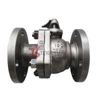 Buy cheap Stainless Steel Soft Seated Ball Valve , CF8M Manual Ball Valve FB 150LB from wholesalers