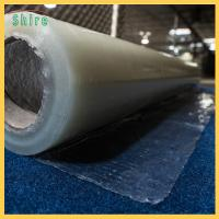 Buy cheap Fire Retardant Carpet Masking Film , Plastic Carpet Protector Roll 20MIC Thick from wholesalers
