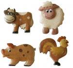 Buy cheap Resin Crafts Cartoon Fridge Manget Animal Fridge Magnet from wholesalers