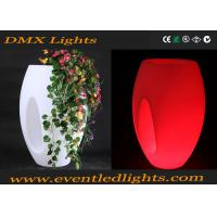 Buy cheap Durable Led Lighted Flower Pots With Lights By Remote Control from wholesalers